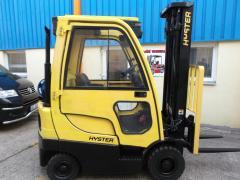 Vysokozdvižný vozík Hyster H 1.6FT LPG - výborný stav, r.v.2008, záruka.