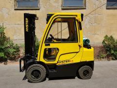 Vysokozdvižný vozík Hyster H 2.5FT záruka, r.v.2012, nový posuv, váha RAVAS