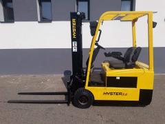 Vysokozdvižný vozík Hyster J2,00XMT AKU 2t r.v.2007