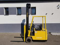 Vysokozdvižný vozík Hyster 1,25t AKU triplex 6,5m