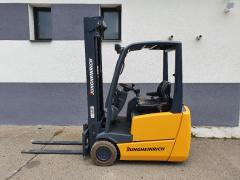 Vysokozdvižný vozík Jungheinrich EFG 213, AKU 1,3t TRIPLEX