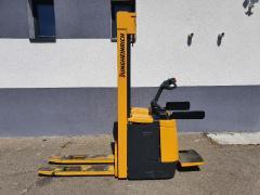 Vysokozdvižný vozík Jungheinrich,1,4t s plošinkou