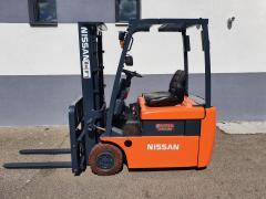 Vysokozdvižný vozík Nissan AKU,vč. nabíječky