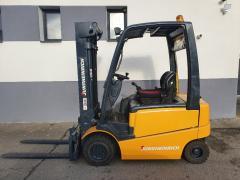 Vysokozdvižný vozík Jungheinrich AKU 2,5t TRIPLEX