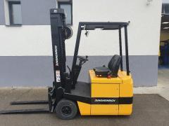 Vysokozdvižný vozík Jungheinrich 1,3t,AKU,triplex 5066mm