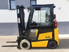 Vysokozdvižný vozík Yale 1,6t,LPG,triplex 4950mm